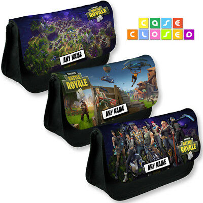 Personalised FORTNITE BATTLE ROYALE Gaming Pencil Case / Cosmetic Make Up Bag