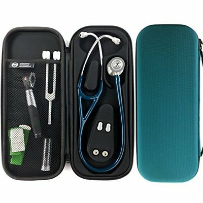 ❤ Pod Technical Cardiopod Cardiology Stethoscope Carry Case Teal Lightweight Pod