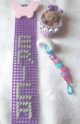 3 Piece Personalized Accessory Set With The Name Erica-New-Handmade-Discounted