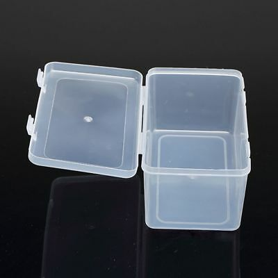 Container Pens Brushes Nail Storage Box Empty Box Rectangle Plastic
