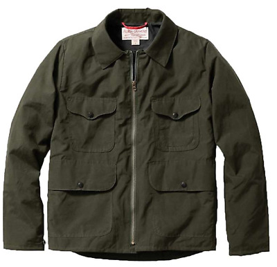 Filson Bell Bomber Jacket - Men's L - Waxed Cotton - Made in USA - 20002798