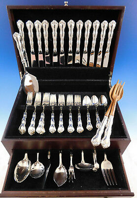 Rondo by Gorham Sterling Silver Flatware Set 12 Service 62 pieces
