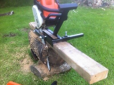 Chainsaw Mill,vertical Cut For Planking And Milling.