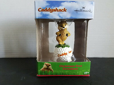 NIB Hallmark Warner Brothers Caddyshack Gopher Christmas Tree Ornament