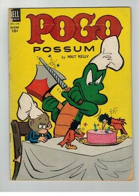 Pogo Possum # 16 WALT KELLY DELL COMICS
