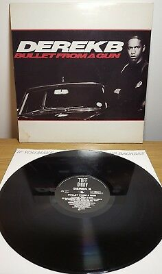Derek B - Bullet from a gun Vinyl LP Album Original 1988