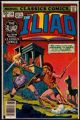 Marvel CLASSICS Comics #26 The ILIAD NM 9.4