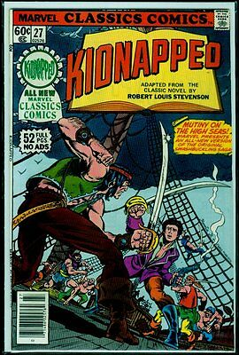 Marvel CLASSICS Comics #27 KIDNAPPED VFN/NM 9.0
