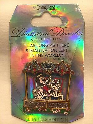 BEAUTIFUL Mickey Mouse Pin LE5000 Diamond Decades Collection