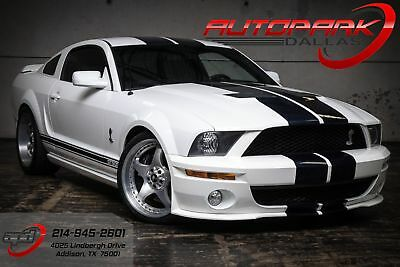 2007 Ford Mustang Shelby GT500 2007 White Shelby GT500!