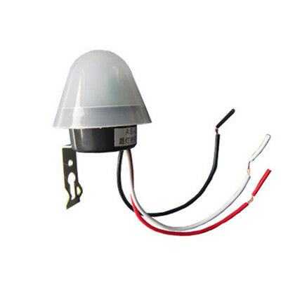 Night 1PC Auto On Off Road Sensor Light Operated Switch 12V 10A Auto Operated