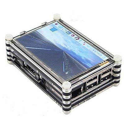 PRO, TFT 3.5 Inch LCD Touch Screen  Case Shell for Raspberry pi 2/3! US