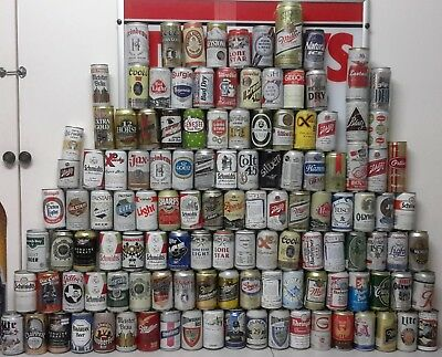 320 Different American Beer Cans - Most Aluminium ... Some Steel
