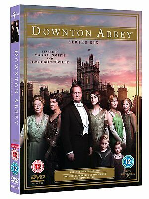 Downton Abbey Complete Series 6 Final Season New and sealed DVD Box Set