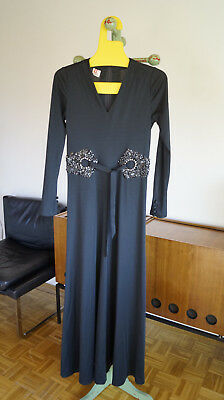 Vintage Lucie Linden Kleid Abendkleid maxi evening dress 70er 70s