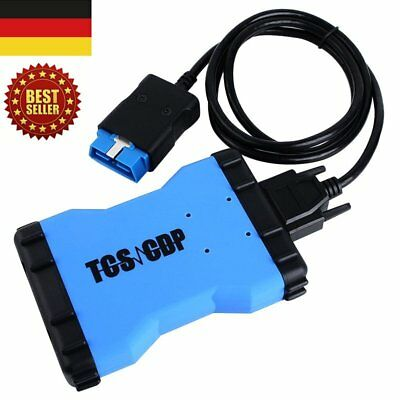 TCS CDP PRO Bluetooth Universal Auto Diagnostic Tool 2015 R3 software Scanner