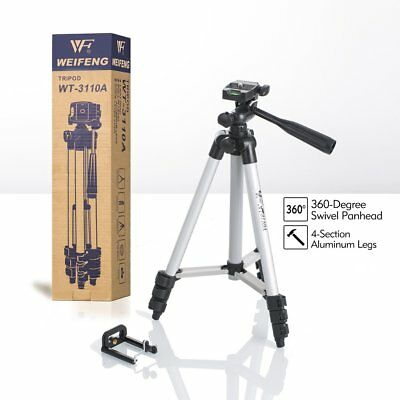 WEIFENG Portable Adjustable Tripod Stand For Digital Camera Mini DLP Projector