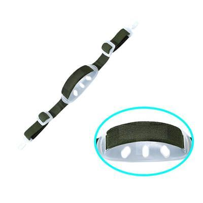 1pcs Universal Hard Hat Chin Strap with Black Elastic Strap and Chi 2018