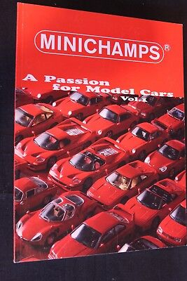 Book Minichamps A Passion for Model Cars Vol. 1