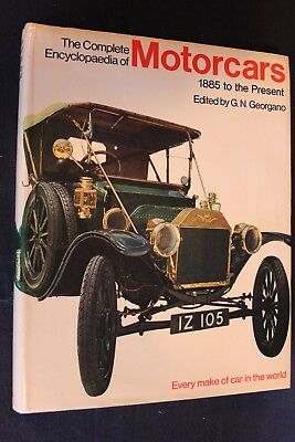 Ebury Press Book The Complete Encyclopedia of Motorcars 1885 - Present Georgano