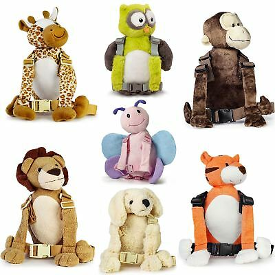Goldbug 2-IN-1 HARNESS/REINS & BACKPACK ANIMAL BUDDY Toddler Safety Travel BN