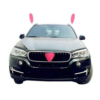 New Car Vehicle Decorations Easter Bunny Costume Ears and Nose For All Vehicles