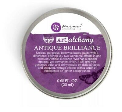 Finnabair Art Alchemy Antique Brilliance Wax Amethyst Magic