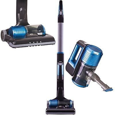 OVATION 2 in 1 LIGHTWEIGHT CORDLESS UPRIGHT HANDHELD VACUUM CLEANER HTC01