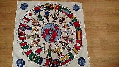 1976-1996 Sisters of the Presentation of Mary Bicentennial Commemorative Scarf