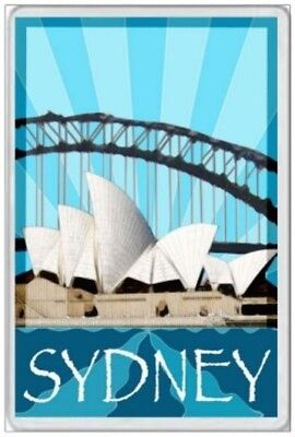 Sydney - Jumbo Fridge Magnet - Harbour New South Wales Australia Ashes Cricket 6