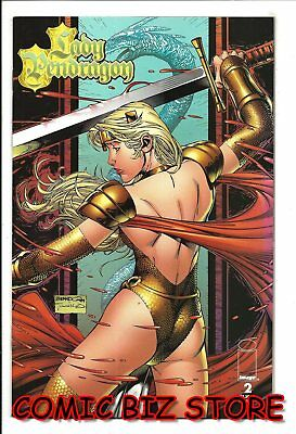 Lady Pendragon #2  (1999) 1St Printing Bagged & Boarded Image Comic