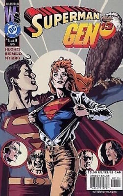 Superman/gen13 #1 (2000) 1St Printing Bagged & Boarded Dc Comics