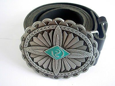 Native American Indian Belt Buckle and Belt Symbol Leather Belts and Buckles