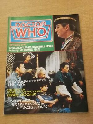 Doctor Who #56 1981 Sep British Weekly Monthly Magazine Dr Who Dalek Cybermen