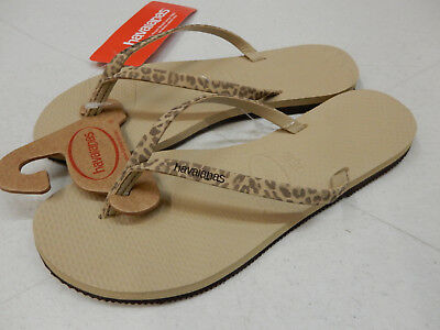 2b163ea7dc453 HAVAIANAS WOMENS SANDALS You Animals Sand Grey Size 9 10 -  40.00 ...