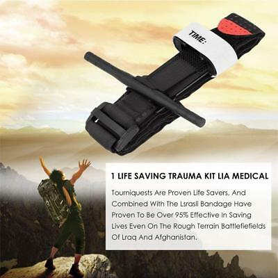 Black Tourniquet Buckle First Aid Medical Tool For Emergency Injury BC