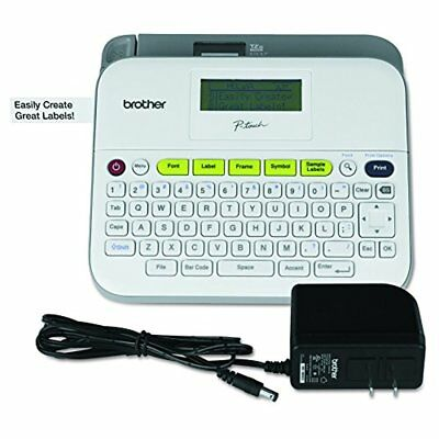 Brother P-touch Label Maker With AC Adapter PTD400AD