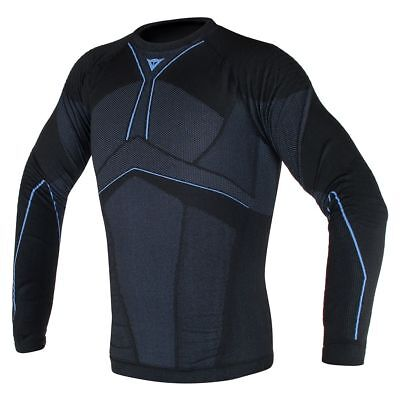Dainese D-Core Aero Base Layer Shirt Black/Cobalt Blue
