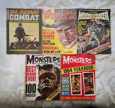 collection of 24 Warren Magazines, including Famous Monsters of Filmland,...