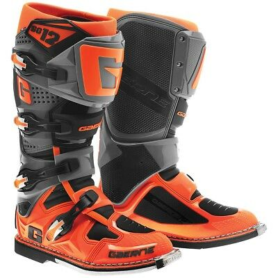 Gaerne SG-12 2016 MX/Offroad Boots Gray/Orange