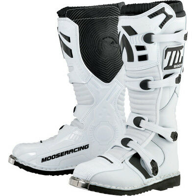 Moose Racing M1.2 MX Sole Offroad Boots White
