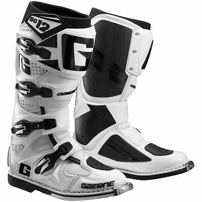 Gaerne SG-12 MX Offroad Boots White