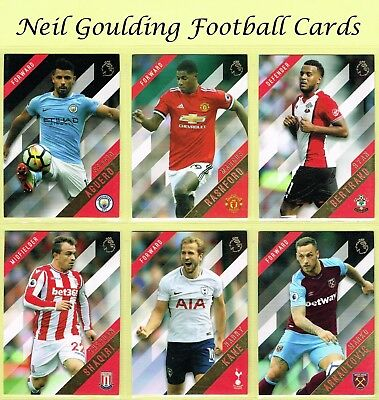 Topps PREMIER GOLD 2017-2018 ☆ Premier League Football Base Cards ☆ #76 to #150