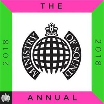 MINISTRY OF SOUND The Annual 2018 BRAND NEW SEALED 3CD