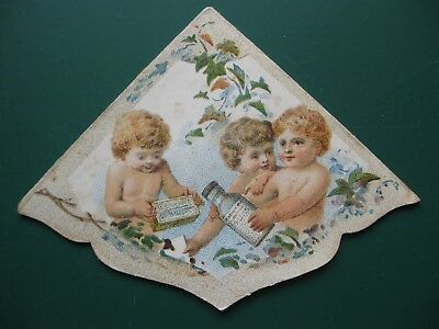Antique Bookmark MELLIN'S FOOD FOR INFANTS Boston USA America advertising