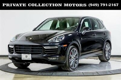 2015 Porsche Cayenne Turbo Sport Utility 4-Door 2015 Porsche Cayenne Turbo 2 Owner Clean Carfax Well Kept