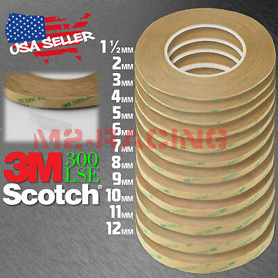 Genuine 3M 300LSE Double Sided Tape Heavy Duty Cell Phone Repair 180ft Long Roll