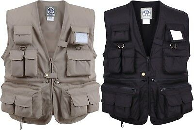 Kids Uncle Mility Multi Pocket Outdoors Camping Fishing Vest