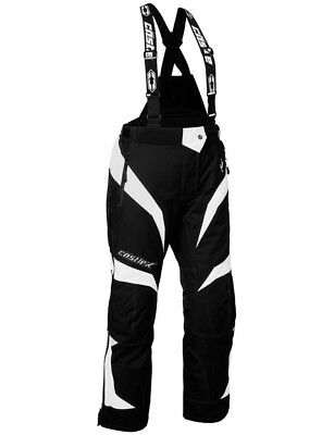 Castle X Fuel G6 Womens Snowmobile Bibs White