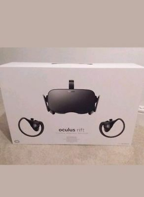 Oculus Rift VR System - Touch Controllers + 6 Free Games + 2 Sensors BRAND NEW